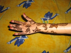 Lates Mehandi Design for Hand