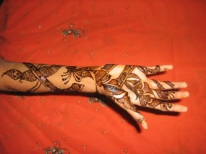 Mehandi Design for Inside Hand