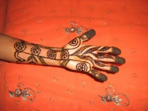 New Bridal Mehandi 2011