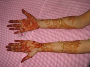 Mehandi Design for Both Hands