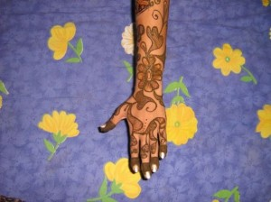 Cute Mehandi Design Photo