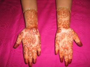 Full Hand Mehandi Design