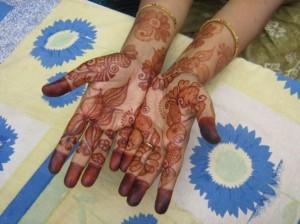 Mehandi Design for Girl