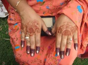 Mehandi Design for Outside Hands