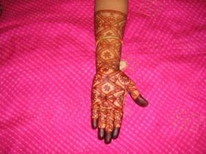 Mehandi Designs For Wedding