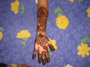 Beautiful Hand Mehandi