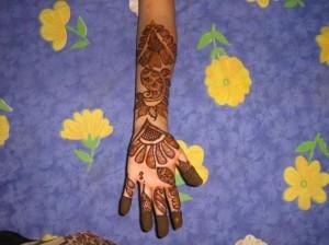 Beautiful Hand Mehandi
