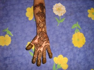 Pakistani Mehandi Designs
