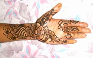 Pakistani Bridal Mehndi Design