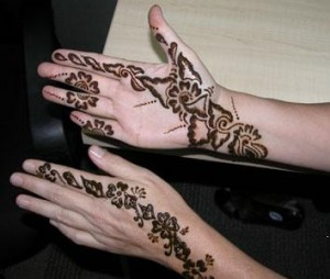Cute Mehndi Design Photo
