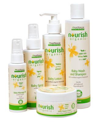 nourish baby Organic Baby Products
