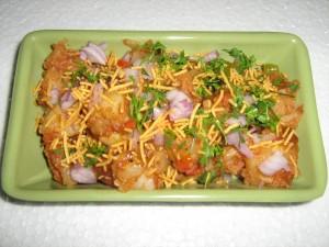snacks alu chaat masala