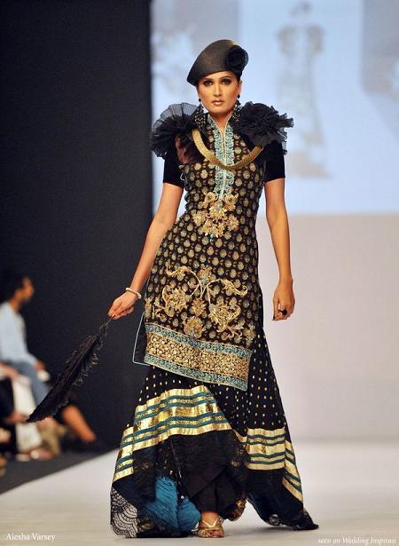 Aeisha Varsey Gharara Dress