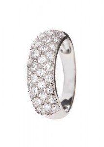 Argent Silver and Cubic Zirconia Ring