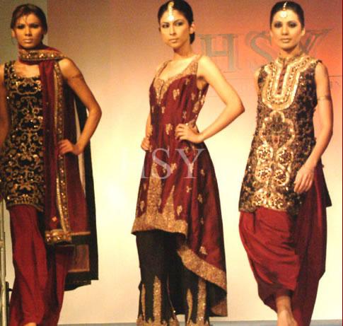 Pakistani Dress Designers on Beautiful Dresses By Hassan Sheheryar Yasin