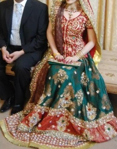 Bridal Dress Designed By Ahsan Nazir