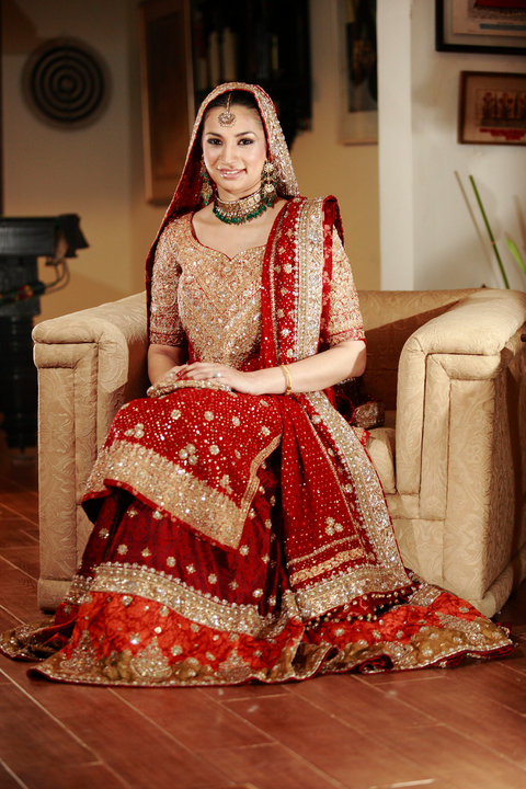 Bunto Kazmi Pakistani Bridal Dress Design