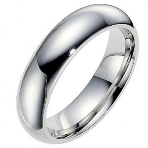 Cobalt men's 6mm polished wedding ring
