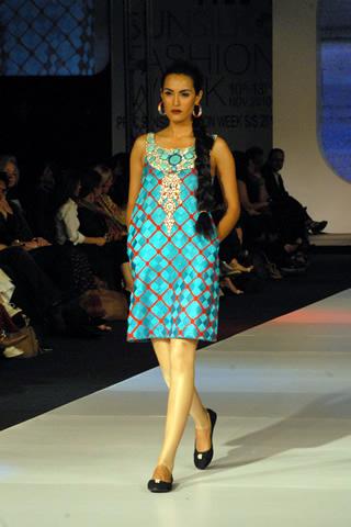 Designer Zara Shahjahan PFDC Sunsilk Fashion Week 2010 Collection