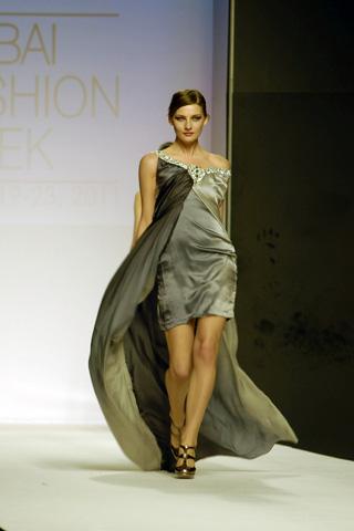 Dubai Fashion Week 2011 Asim Jofa Designer Collection