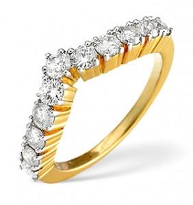 Gold Diamond Ring 0.70ct