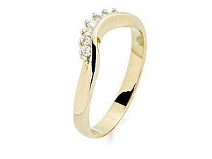 Gold Shaped Diamond Brides