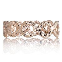 Gold Teeny Tiny Circle Band Ring