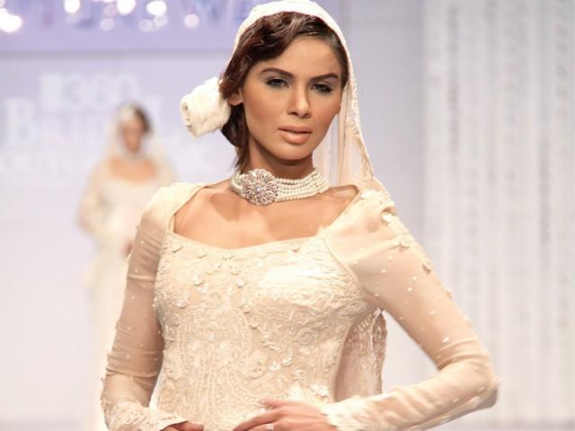 Maheen Khan Bridal couture week 2011