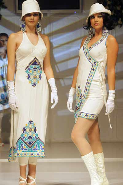 Rizwan Beyg collection at Bosnian fashion week 2009