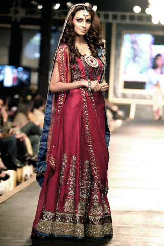 Sehar Ali Bridal Dress