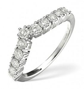 White Gold Diamond Ring 0.70ct
