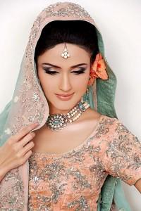 Zara Sheikh in Mahid Khawer Dress