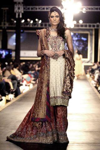 sehar ali at bridal couture week 2010