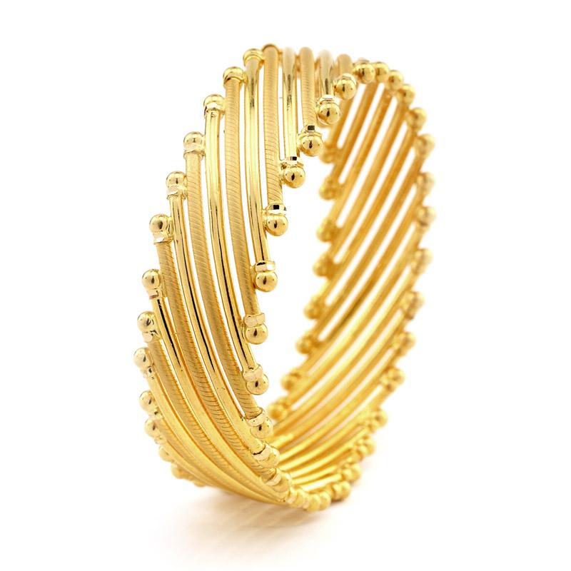 Gold Bangles - Fashion 2019