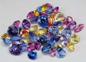 Colourful Sapphires