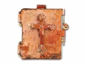 Copper Cross Locket