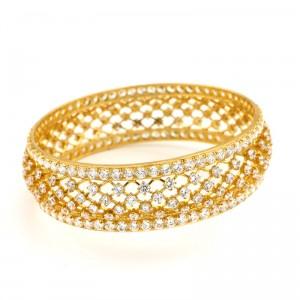 Diamond Finish Bangle