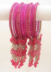 Light Pink Casual Bangles
