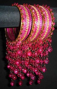 Pink Casual Bangles