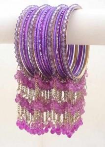 Purple Casual Bangles