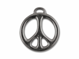 Pewter pendants fashion 2017 tierracast black finish pewter peace pendant aloadofball Image collections