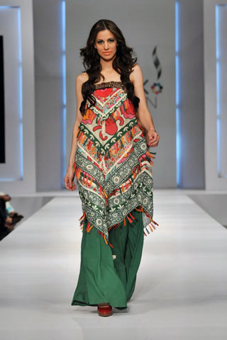 khaadi collection 2011 at pfdc sunsilk fashion week 2011
