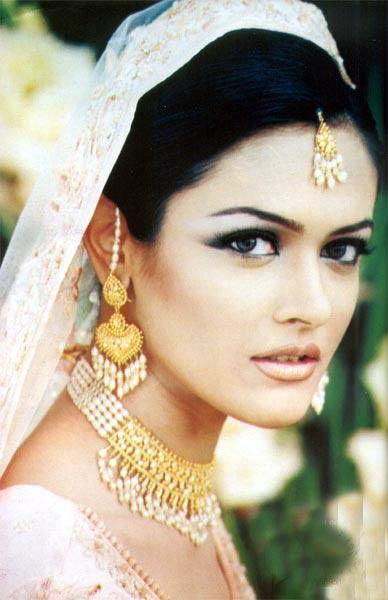 Amina Shafaat in Bridal Dress