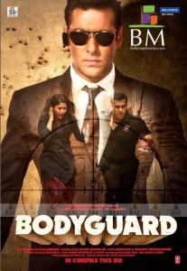 Bodyguard Poster - Salman Khan & Kareena Kapoor