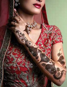 Bridal Fashion Mehndi Design