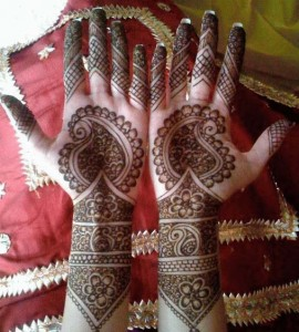 Eid Mehndi Design Photo