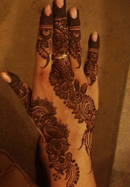 New eid mehndi designs 2011 1 comment