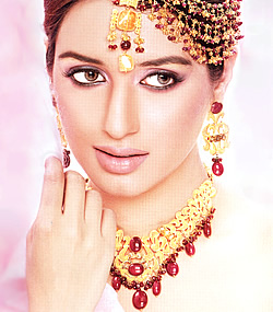 Iman Ali in Bridal Jewellery
