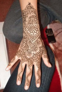 Indian Eid Mehndi Design