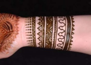 Indian Fashion Mehndi Design